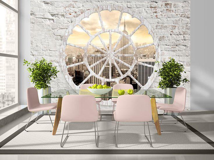 25+ best ideas about fototapete küche on pinterest   deko tapete ... - Wohnung Mit Minimalistischem Weisem Interieur Design New York