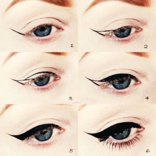 Winged Eyeliner Stencil Did you knoweyeliner
