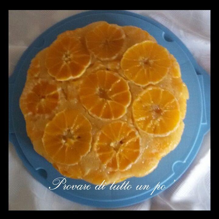 Torta+rovesciata+all'arancia