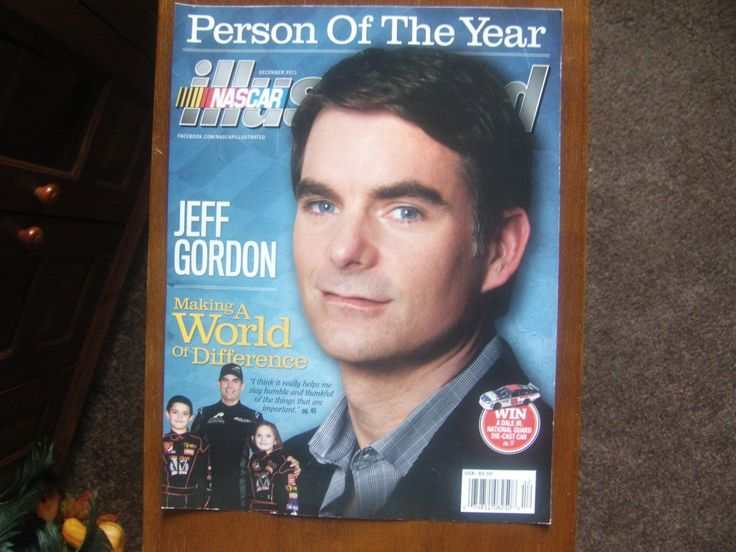Nascar Illustrated Cover Jeff Gordon