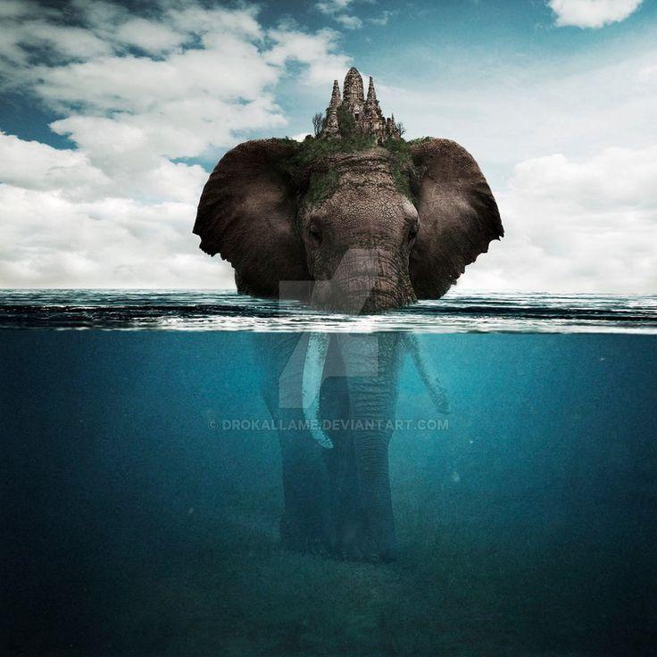 Elephant by Drokallame.deviantart.com on @DeviantArt