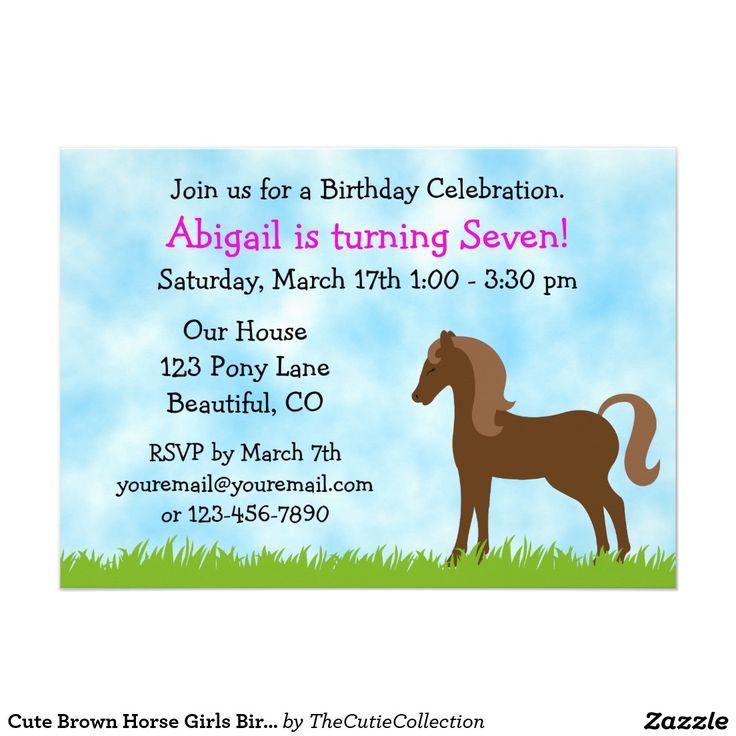 Best 25+ Girl horse party ideas on Pinterest | Horse theme ...