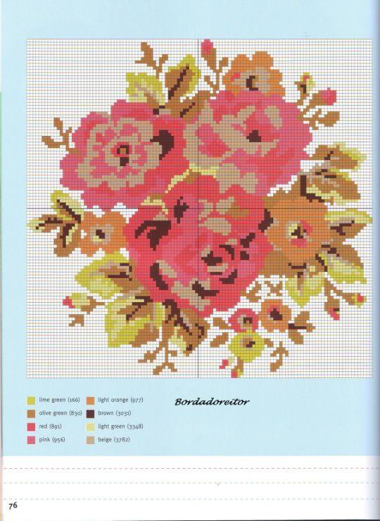 49 best Cath Kidston Sticken images on Pinterest | Cross stitch ...