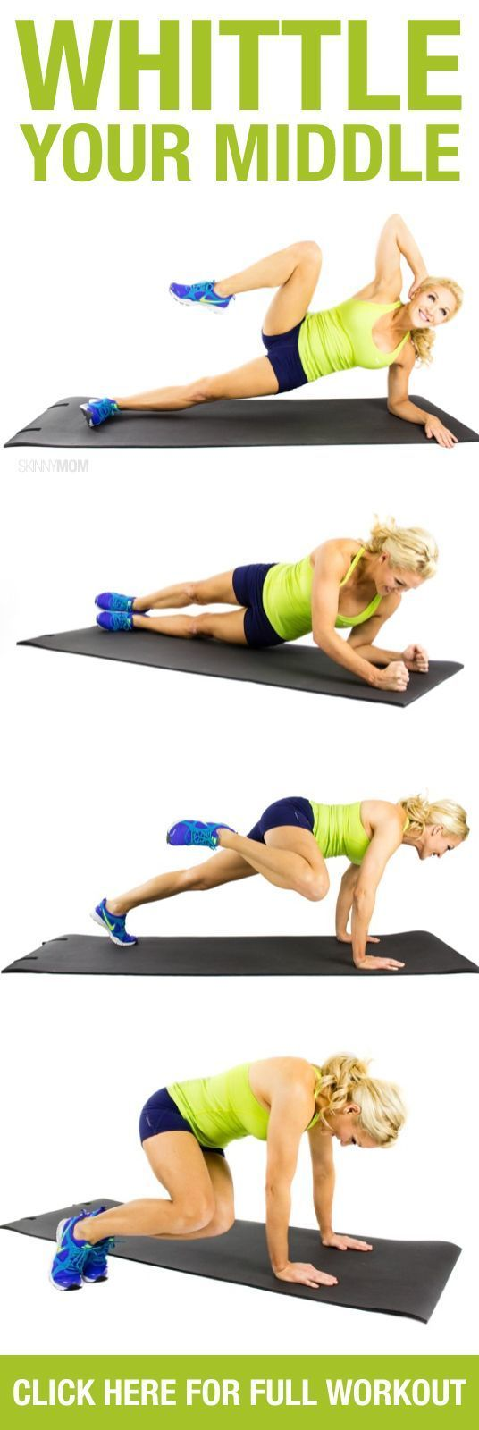 Shrink your waist with these ab exercises!