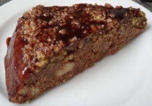 Kakaový jáhelník s ořechy