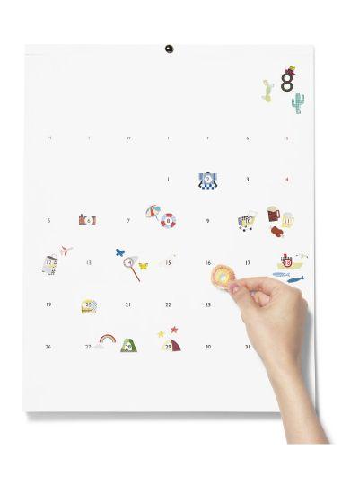 かわいいデザインと美しい仕掛けで、日々が楽しくなりそうなカレンダー「2013 D-BROS CALENDAR」 | mifdesign_antenna
