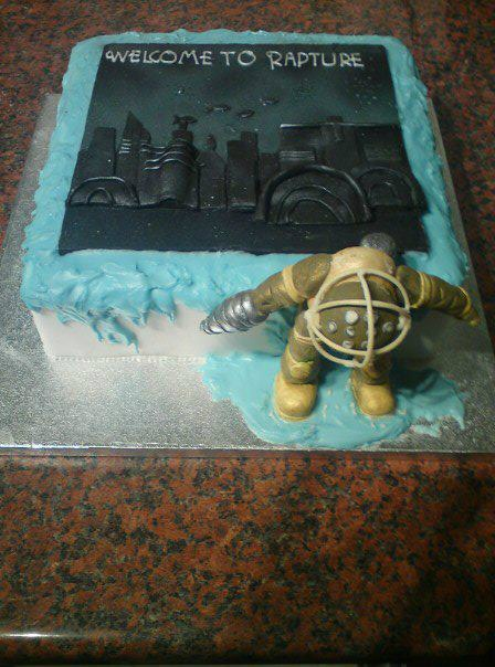 Bioshock Themed Cake