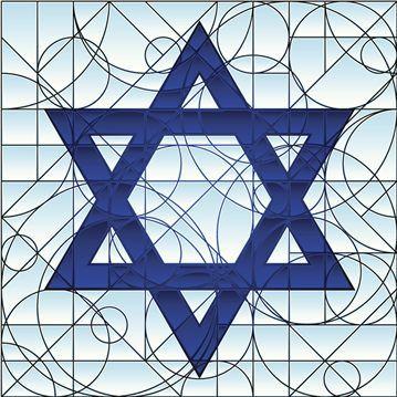 Star of David & other Jewish symbols with history