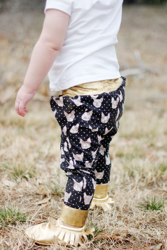 the TRIANGLE pants 18M to 8 PDF pattern | see kate sew