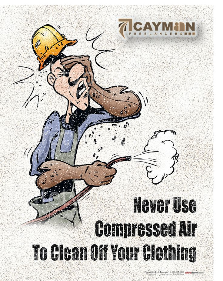 Safety Tip Tuesday Compressed air can dislodge particles