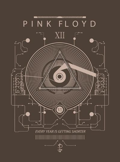 Time machine ~ Pink Floyd tribute artwork