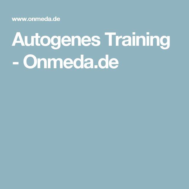 Autogenes Training - Onmeda.de