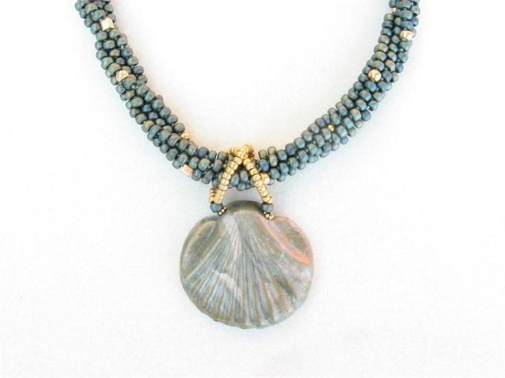 Kumihimo necklace.  Supplies available at http://bergerbeads.net/kumihimostarterkit-1kit.aspx