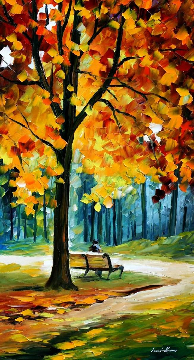 Recollection of the Past - By Leonid Afremov