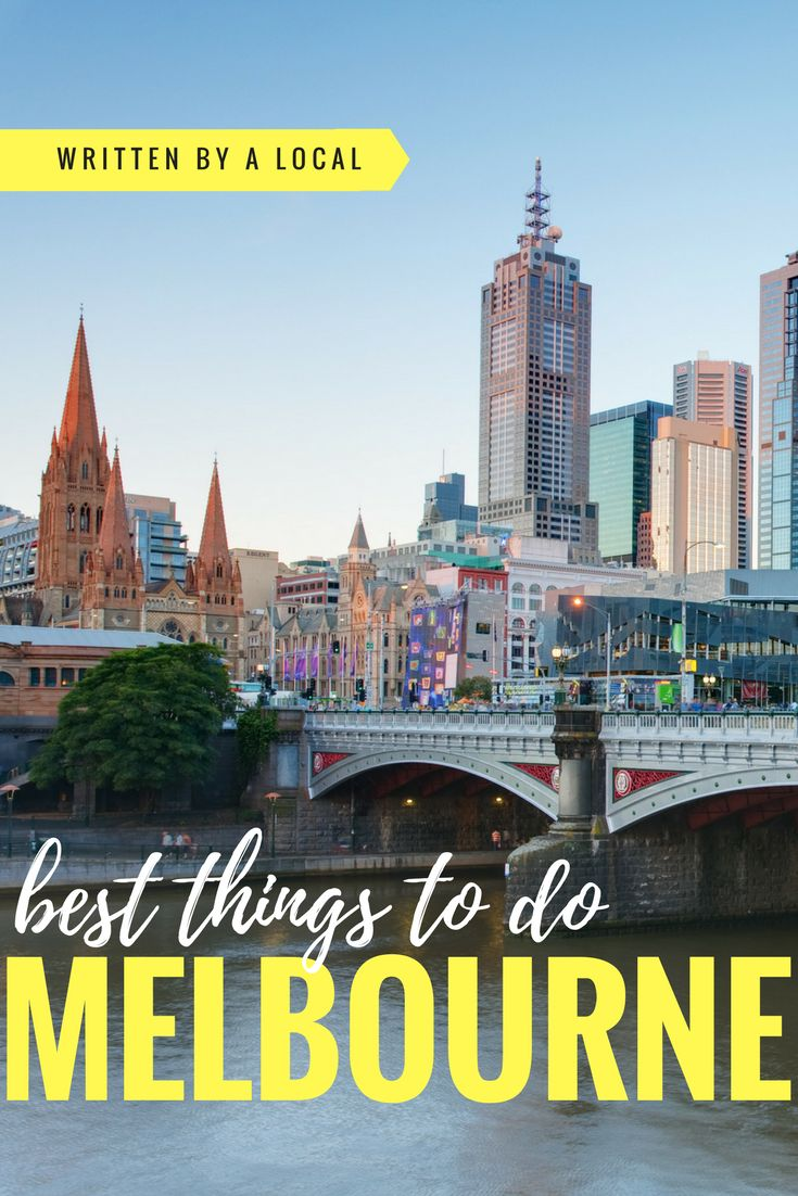 Melbourne is Australia's cultural capital and is packed with things to do! Come and find out what you should try when you travel to Melbourne.