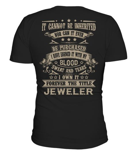 """# JEWELER .  JEWELER-- LIMITED EDITION !!!The perfect hoodie and tee for you !HOW TO ORDER:1. Select the style and color you want:T-Shirt / Hoodie / Long Sleeve2. Click """"Buy it now""""3. Select size and quantity4. Enter shipping and billing information5. Done! Simple as that!TIPS: Buy 2 or more to save on shipping cost!Guaranteed safe and secure checkout via:Paypal 