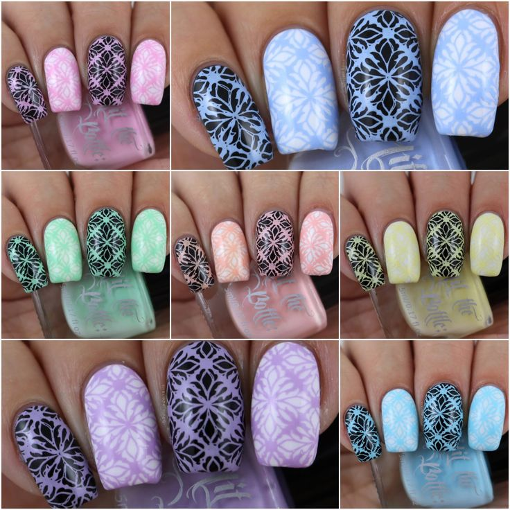 Hit The Bottle Fruit Tingles Pastel Stamping Polish Collection - Swatches & Review by Olivia Jade Nails