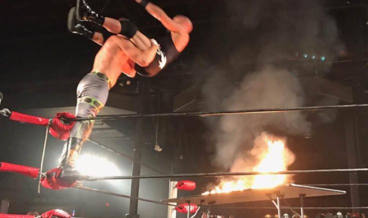 EXCLUSIVE: Christopher Daniels gives status after receiving burns from table spot
