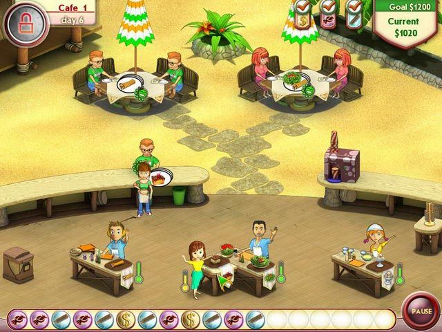 Amelie's Cafe Game Preview