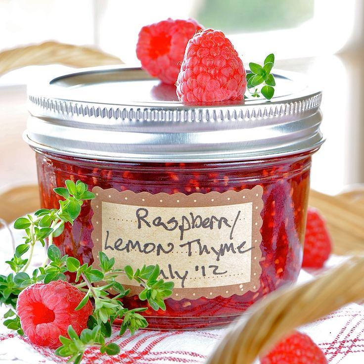 JULES FOOD…: Raspberry Lemon Thyme Jam