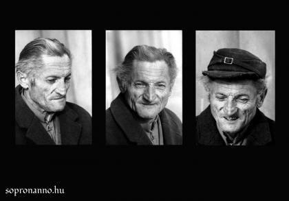 Portrésorozat Nagy Sándorról 1974-ből
