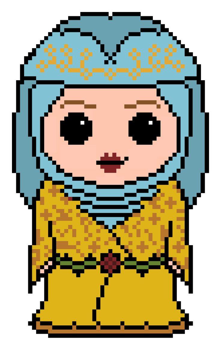 Game of Thrones Lady Olenna cross stitch pattern
