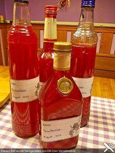 Roter Trauben - Likör (Rezept mit Bild) von Mipidus | Chefkoch.de