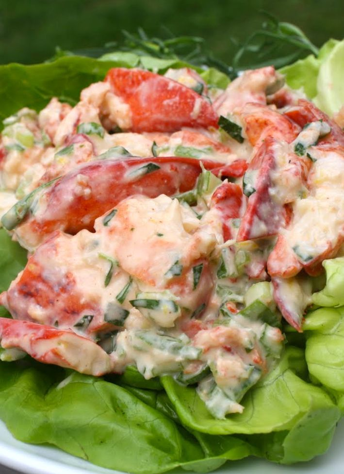 This is without a doubt the best Lobster Salad  that I've every tasted. A luscious combination of diced avocado, ripe mango, cho...