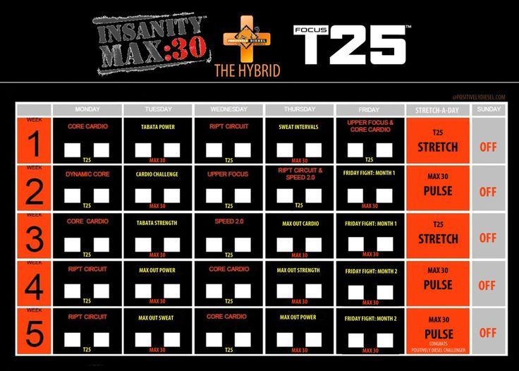 hybrid schedules t25 h...