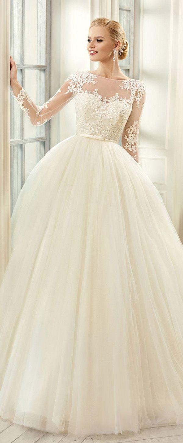 Mavelous Tulle Bateau Neckline Ball Gown Wedding Dresses With Bowknot