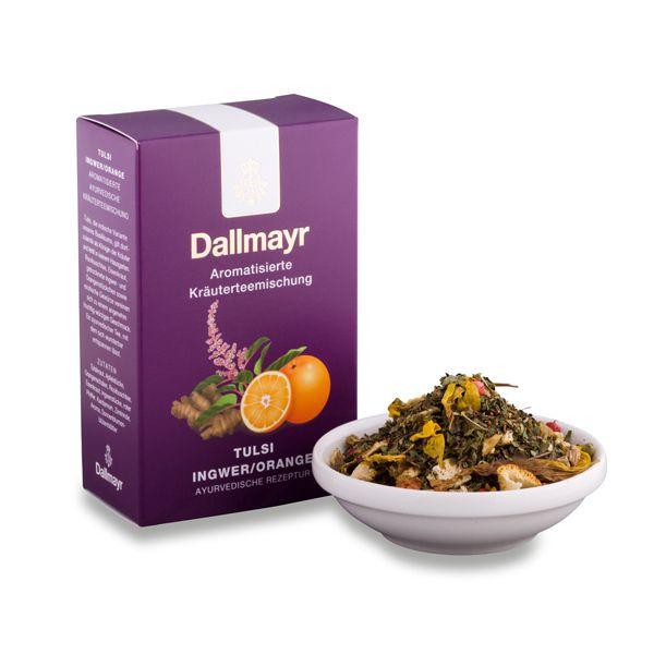 Dallmayr Tulsi Ingwer/Orange Tee - http://garten-tee.de/dallmayr-tulsi-ingwerorange-tee