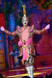 Julian Clary in Aladdin