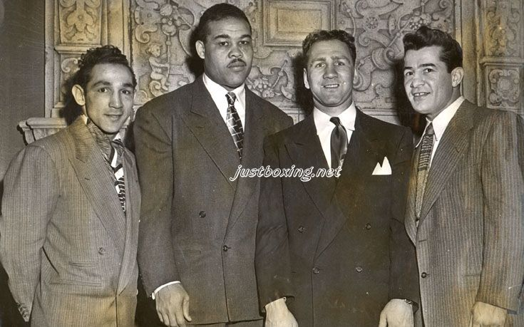 wille pep | 21 января 1948 г. Вилли Пеп, Джо Луис, Гас ...