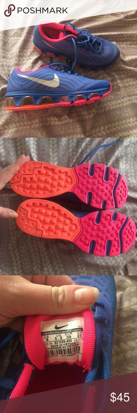 Nike Air Tailwind 6 Fit Sole Running Shoes These shoes are in 100% perfect condition. Were given to me as a gift and I have never touched them! US size 8! Nike Shoes Sneakers