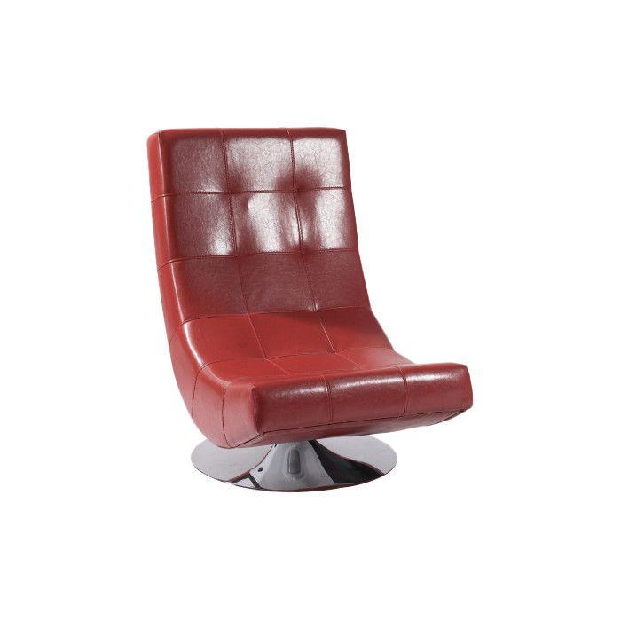 armen living mario swivel lounge chair u0026 reviews wayfair
