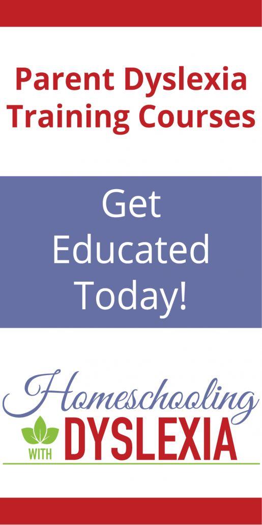 Dyslexia Training Courses - Homeschooling with Dyslexia
