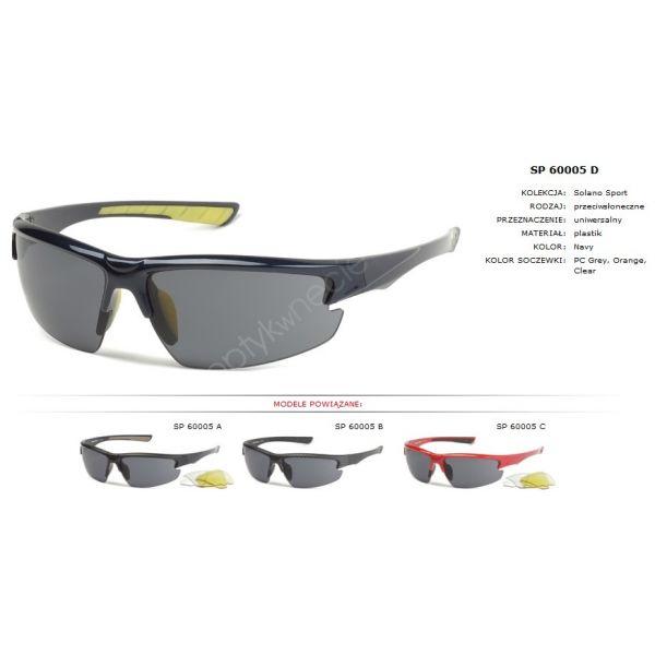 Sportowe:: #Okulary przeciwsłoneczne z polaryzacją #Solano ss 60003 C