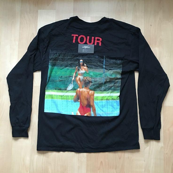"SAINT PABLO TOUR MERCH LONG SLEEVE ""KIM K"" TEE"