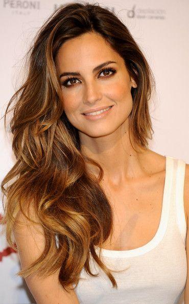 Ariadne Artiles Promotes Gran canaria Moda Calida....her hair <3