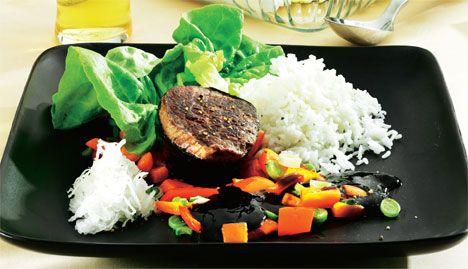 Opskrift på Japansk bøf med soyasovs fra - Hjemmet
