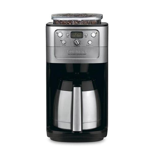 Cuisinart Grind Brew Thermal 12 Cup Coffeemaker Stainless/Black Fully Automatic Burr Grind & Brew Thermal