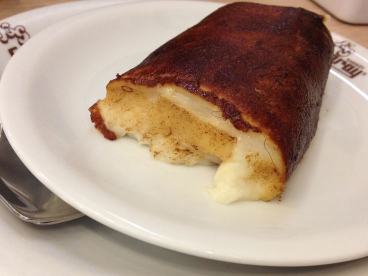"Kazandibi: a milky, sweet pudding dessert nicknamed ""chicken breast""."