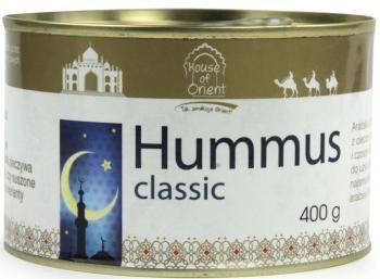 Pyszny humus klasyczny. http://www.mniammniam.com/sklep/12362,Pasta_Hummus_Classic_400_g_House_of_Asia_.html