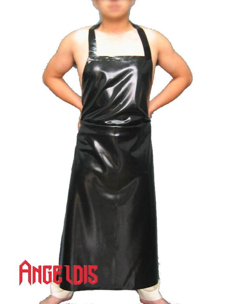 unique AngelDis latex costume latex apron unisex differ color 0.4mm #12001 #AngelDis