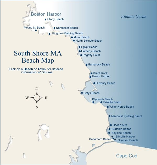 Massachusetts Beaches Google Search Someday The Beach Will Be - Map of egypt beaches