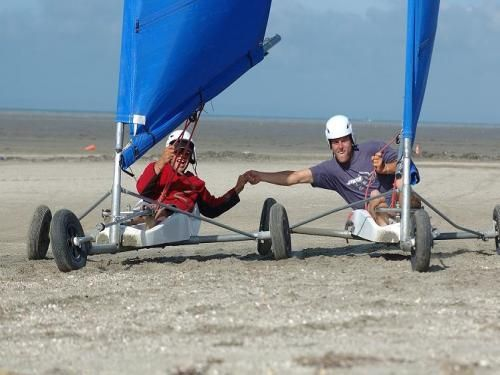 Sand yachting in Mont St Michel Bay - Activity - Holidays & weekends in Hirel