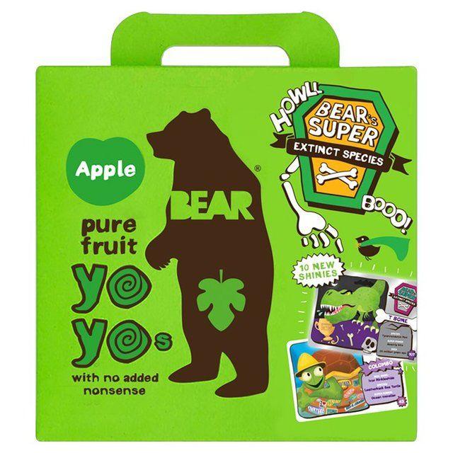 Bear Fruit Yoyos Apple Multipack http://www.ocado.com