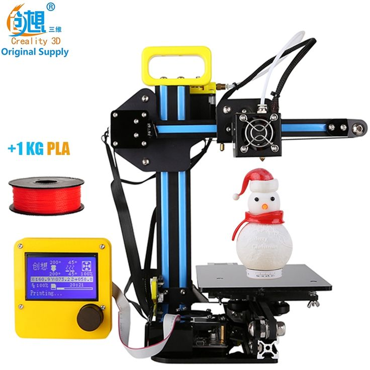 382.05$  Buy here - http://alituj.shopchina.info/go.php?t=32803563972 - CREALITY 3D Cheap 3D Printer Mini 3D-Printer CR-7 Aluminium Extrusion 3D Printer kit DIY With 1KG PLA Filaments Gift For Kids 382.05$ #magazineonlinewebsite