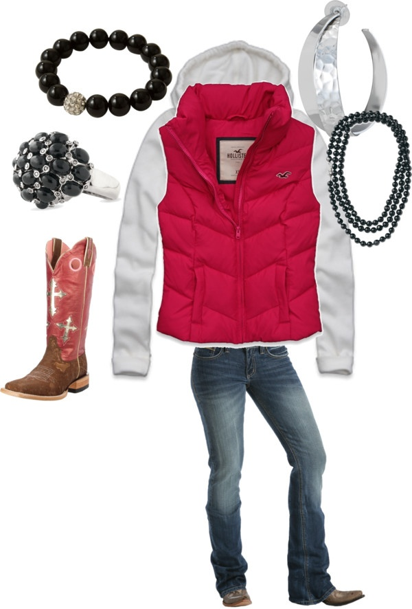 """My winter style"" by rodeorosecowgirlboutique on Polyvore"