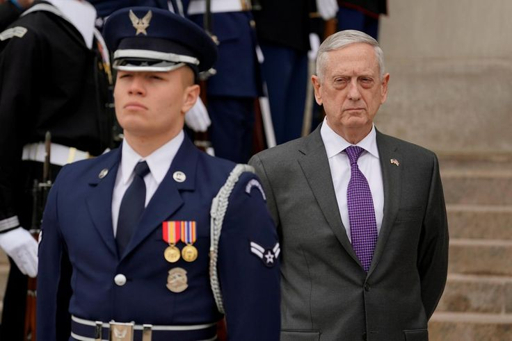 U.S.' Mattis says concerned about Syria's potential use of sarin gas